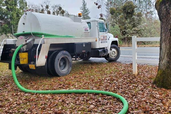 Granite Ridge Septic Tank Pump Truck
